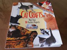 50 Purrfect Projects Cat Crafts Book by Meowmade on Etsy