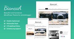 BiancaA – Free WordPress Photographers Theme