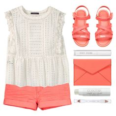 Pop of Coral by amazing-abby