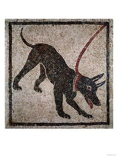 Dog on a Leash, from Pompeii