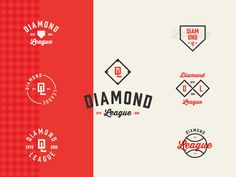 Diamond League by Jay Master #Design Popular #Dribbble #shots