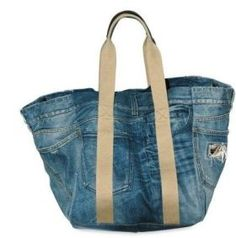 Bag in denim Dolce & Gabbana - better yet - upcycle
