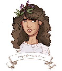 Hermione  -  counting down to cursed child with Harry Potter, sweaters, and flower crowns :)