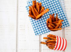 Make these delicious Cinnamon Sweet Potato Fries for a fun vegetable addition to any meal!