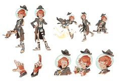 by Ben Fiquet Character Sheet, Character Creation, Character Art, Pixel Art, Character Illustration, Illustration Art, Poses, Character Design References, Aesthetic Art