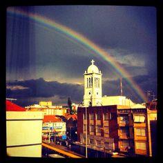 Just a Rainbow in Porto Alegre's sky  Brazil, Rio Grande do Sul, Porto Alegre