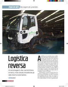 Título: Logística reversa. Veículo: revista Transporte Mundial. Data: setembro de 2014. Cliente: JR Diesel.