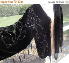Ho Ho Holiday SALE Vintage Panne Velvet jacket with by MPPDesigns