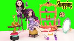 Ever After High Glass Slipper Shoe Store Playset with Disney Descendants...