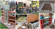 What I found were these 10 amazing cinder block projects to make for your backyard. Are you excited? This building material is very affordable Backyard Ideas For Small Yards, Backyard For Kids, Diy Patio, Backyard Patio, Cinder Block Garden, Cinder Blocks, Snacks Saludables, Garden Architecture, Garden Projects