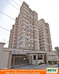 Paisagismo do San Thiago. Condomínio fechado de apartamentos localizado em São Bernardo do Campo / SP.