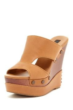 Calvin Klein Bia Slip-On Wedge Sandal by Say Hello to Spring on @HauteLook