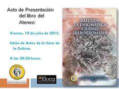 Baécula, la enigmática ciudad iberorromana (presentación del libro del Ateneo de Bailén) - YouTube
