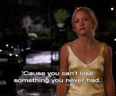 'Cause you can't lose something you never had. How to lose a guy in 10 days featuring Matthew McConaughey and Kate hudson. Tv Show Quotes, Film Quotes, Book Quotes, Love Movie, I Movie, Dramas, Best Movie Lines, Favorite Movie Quotes, Favorite Things