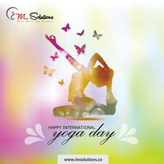Yoga, is the Journey of the life, to the self,through the self #HappyInternationalYogaDay #IMSolutions #Advertisingagency  https://bit.ly/2g2PiX8