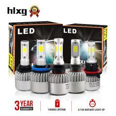 """4 Pack 6/"""" 12 V Projecteur Halogène Lampe DEL Angel Eye Head Light Fog Voiture Van Bleu"""