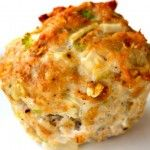 Jaime Eason's Turkey Meatloaf Muffins take out rolled oats and mustard and put franks red hot sauce with flax seeds