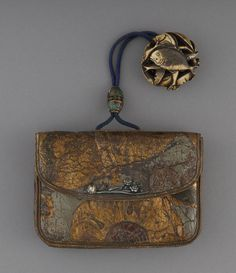 Purse, ca. 1750 at the Smithsonian Cooper-Hewitt National Design Museum