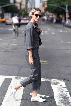 UTILITY JUMPSUIT via Parisienne http://i-love-fashion-and-boys.blogspot.jp/2015/08/utility-jumpsuit.html … #waysify