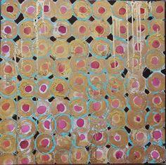 Original painting 30x30 Cherry Pie by Jennifer by JenniferMoreman