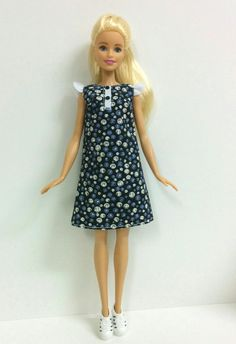 60's Inspired Dress for Barbie Fashionistas/Style by SKSungDesigns