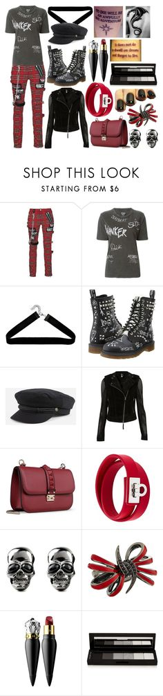 """""""Charlotte """"Charlie"""" Madden 1"""" by ashlynknight ❤ liked on Polyvore featuring Filles à papa, Boohoo, Dr. Martens, Brixton, Valentino, Salvatore Ferragamo, Stephen Webster, Christian Louboutin, shu uemura and justthe4ofusagainsttheworld"""