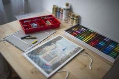 umelec, maliar, tvorba, ateliér Relax, Atelier