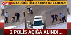 Antalya'da sokak ortasında polis dayağı: Antalya'nın Alanya ilçesinde, bir kadını sokak ortasında darbettikleri iddiasıyla 2 polis görevden uzaklaştırıldı.