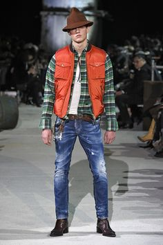 71a407bf343 DSQUARED2 Men s Fall Winter 2015 2016 Show