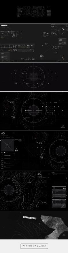 Science Fiction Interfaces Continuum Season 3 by Lorcan O'Shanahan... - a grouped images picture - Pin Them All