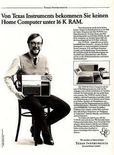 Vintage Computer Ads - Texas Instruments