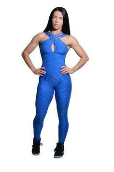BLUE TEXTURE WAVE JUMPSUIT Workout Jumpsuit, Brazilian Workout, Fitted Jumpsuit, Blue Texture, Fitness Fashion, Wetsuit, Wave, Sportswear, Active Wear