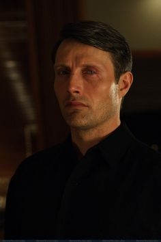 Mads Mikkelsen as Le Chiffre in Casino Royale (2006).