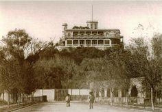 El Castillo de Chapultepec, imagen tomada desde donde hoy está el monumento a los Niños Héroes