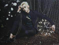 Minhyun Overcome Era... Loved his blonde hair SO much!!