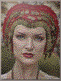 Pushpin portrait, have to try this.