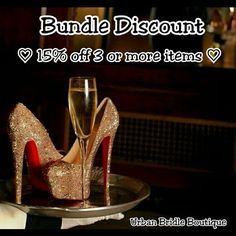 $Bundle Sale$ Add 3 or more items with the bundle option on poshmark and get 15% off!!!  Christian Louboutin Other