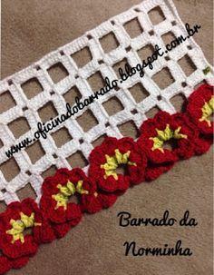 Crochet Borders, Crochet Stitches, Crochet Patterns, Magia Do Crochet, Crochet Lace, Weaving Patterns, Crochet Fashion, Tatting, Crochet Necklace