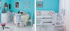 Wall Color: Slick Blue SW 6949