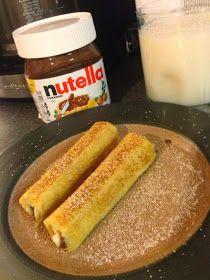 Lindsey Edits: Nutella French Toast Rolls
