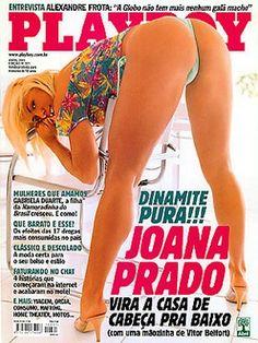 Playboy Brazil April 2002 Cover featured by Joana Prado