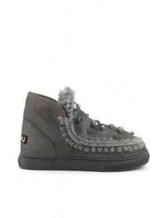 Mou mini eskimo sneakers with Rhinstones