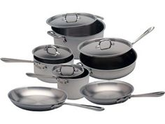 10-pc. Master Chef 2 (MC2) Cookware Set by All-Clad by All-Clad at Cooking.com  #holidaycooking