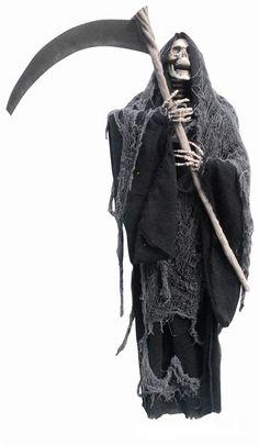 #Trendy Halloween - #Sunstar Industries Inc. Hanging Reaper with Sickle Prop - AdoreWe.com