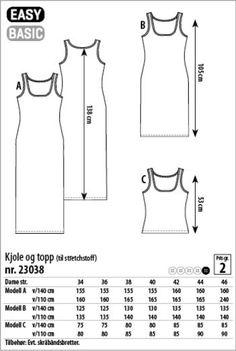 Kleid und Top