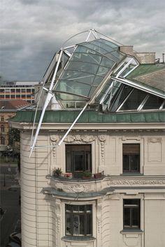 Rooftop Remodelling Falkestrasse - 1983/1987–8 - Vienna, Austria -Coop Himmelb(l)au