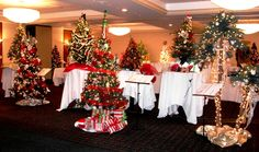 Just a FEW of the beautiful trees that were on display- and up for bid- last year. Come to Trees of Hope 2014 - Nov 22nd, 2014  at Radisson Hotel Mayfair.  www.TreesofHopeWI.org Leukemia And Lymphoma Society, Radisson Hotel, Trees, Christmas Tree, Display, Table Decorations, Holiday Decor, Beautiful, Home Decor
