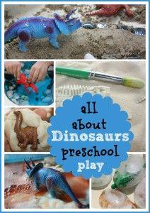 Dinosaurs Preschool Play