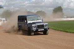 Twisted V8 - being the boss at the LRO show