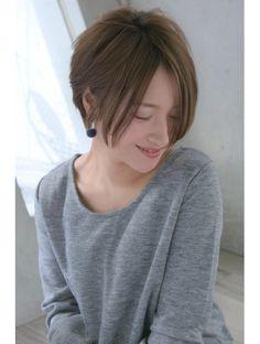 Very Short Hair, Short Hair Styles Easy, Pixie Haircut Thin Hair, Japanese Haircut, Hair Color Formulas, Shaved Sides, Layered Haircuts, Pink Hair, Bob Cut